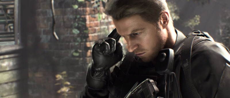 Chris Redfield de Resident Evil