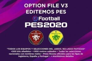 Option File Editemos PES 2020