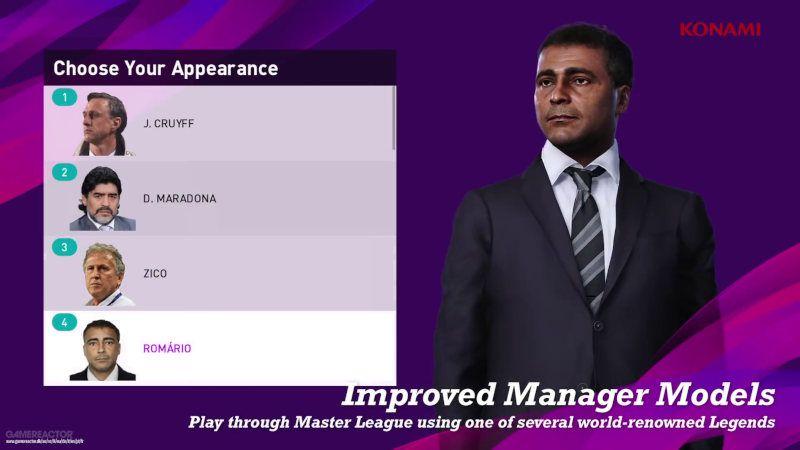 La renovada Liga Master de PES 2020