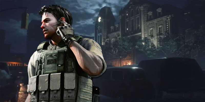 Chris Redfield de Resident Evil