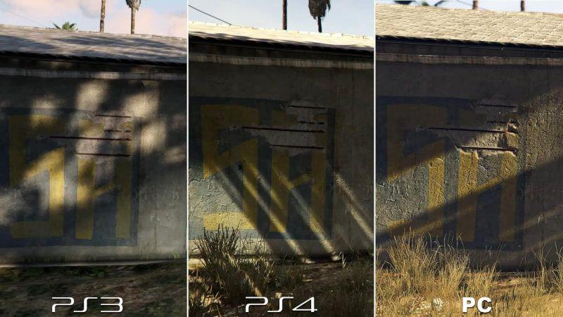 GTA V PS4 vs PC