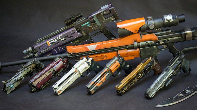Réplicas de pistolas de videojuegos