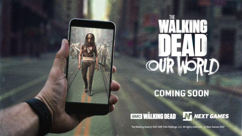 The Walking Dead para móviles