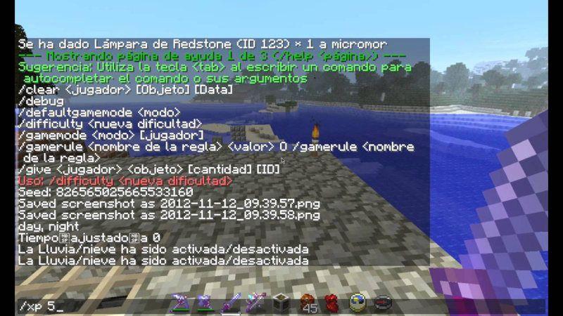 Trucos para Minecraft en PC