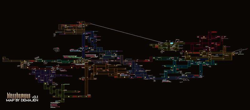 Mapa de Blasphemous