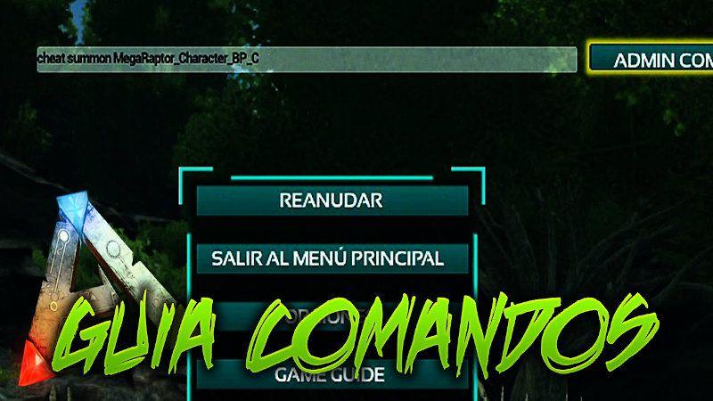 Comandos ARK