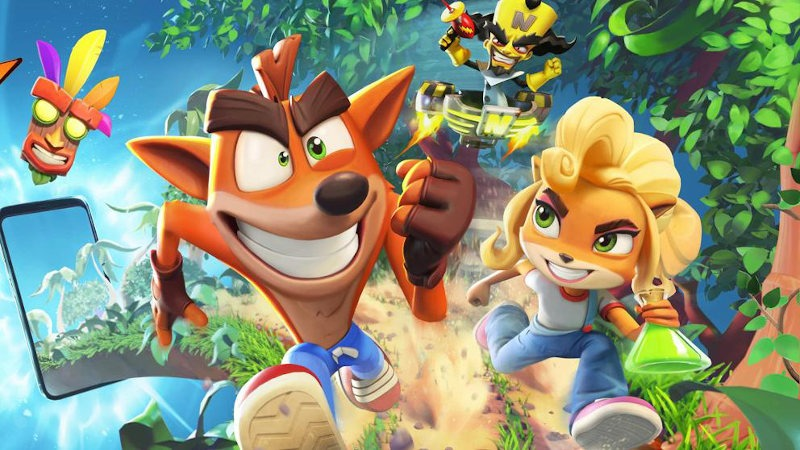 Crash Bandicoot para móviles