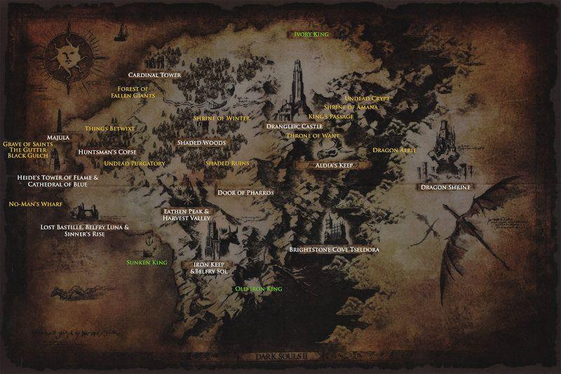 Mapa de Dark Souls 2