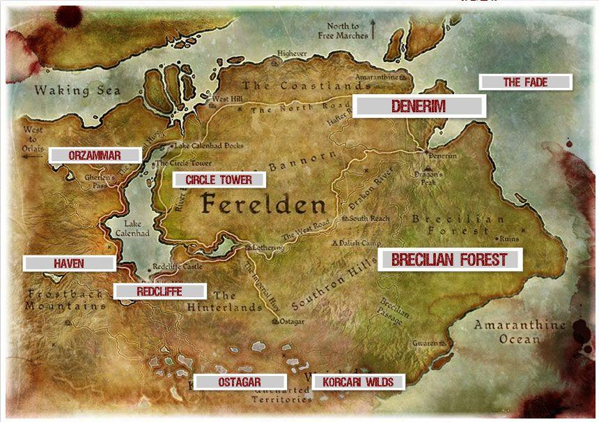 Guía de Dragon Age Origins