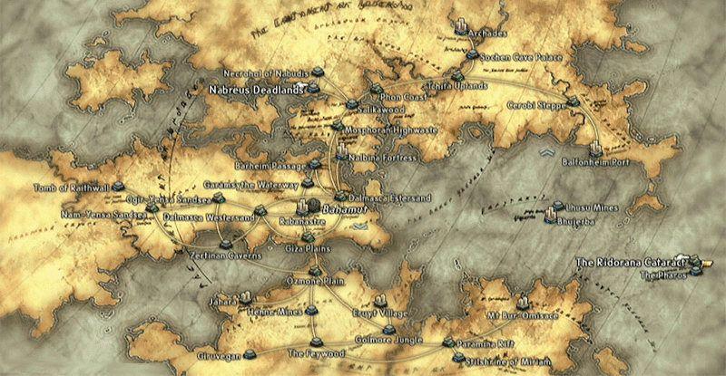 Mapa Final Fantasy XII