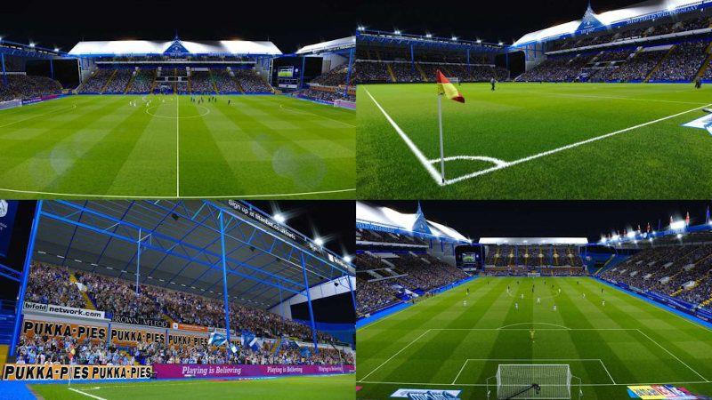 Añadir estadios en PES 2020