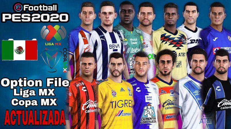 PES 2020 actualizado a 2021 con Liga MX