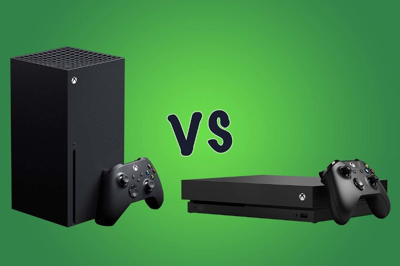 Comparativa Xbox One vs Xbox Series
