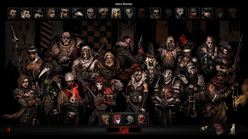 Los DLC's de Darkest Dungeon
