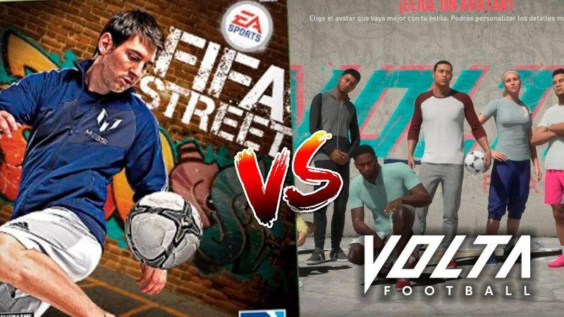 FIFA Street VS Volta