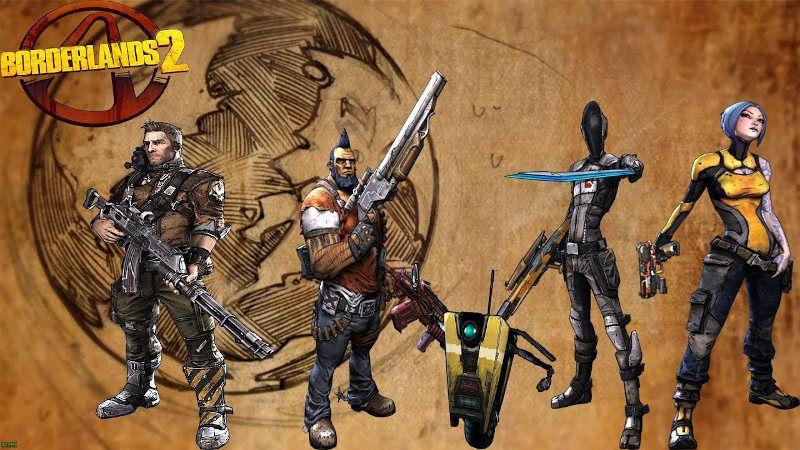 Mejores personajes de Borderlands 2