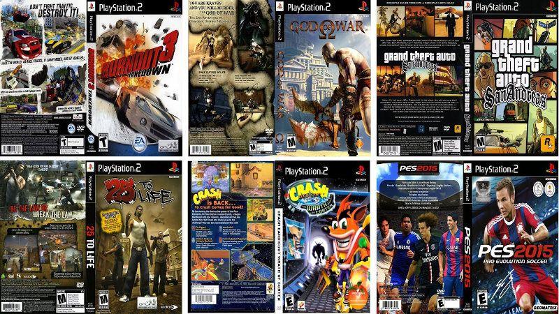 Descargar juegos PS2