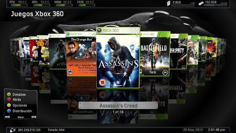 Descargar juegos Xbox 360