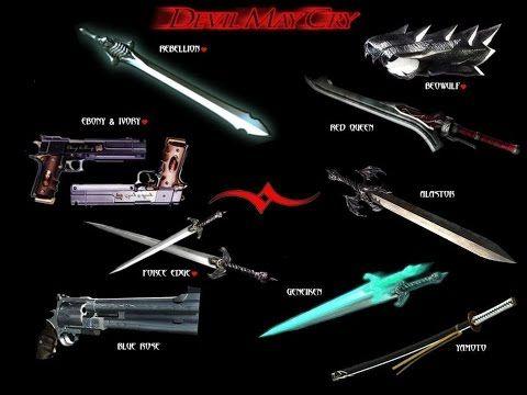 Guía de armas Devil May Crey 3
