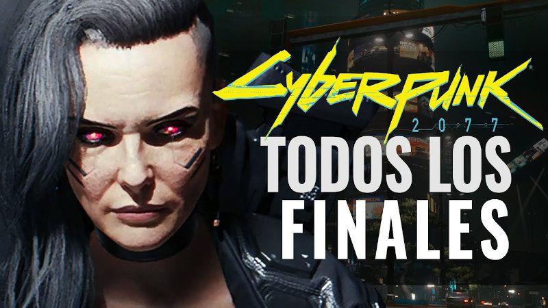 Los finales y secretos de Cyberpunk 2077