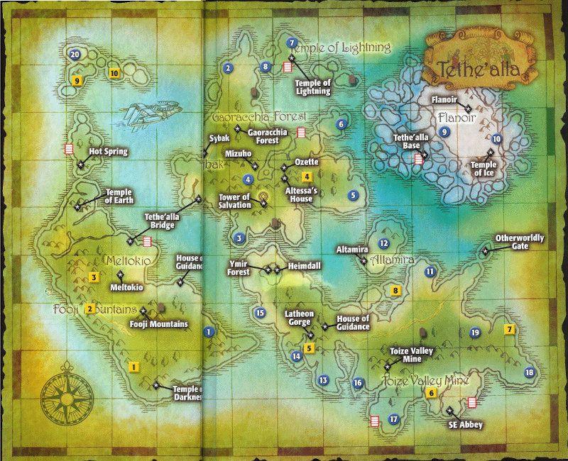Mapa de Tales of Zestiria