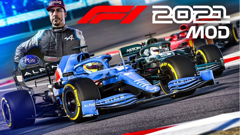 F1 2021 Alonso