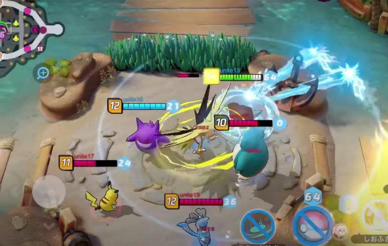 Pokémon Unite: Review y lanzamiento