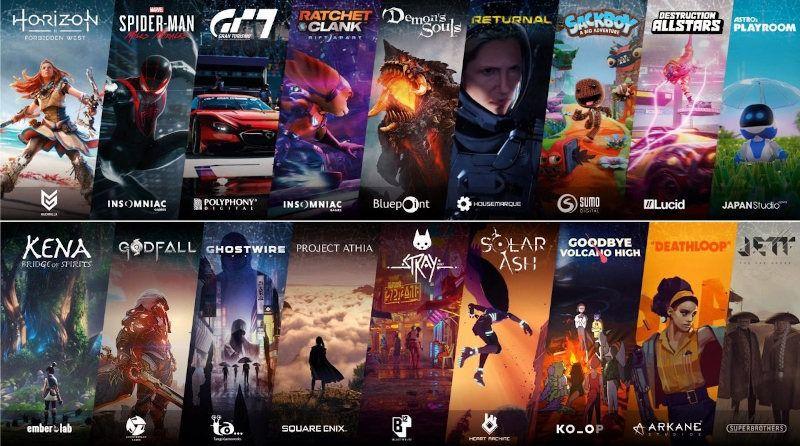 Nuevos anuncios de Sony para la PS5