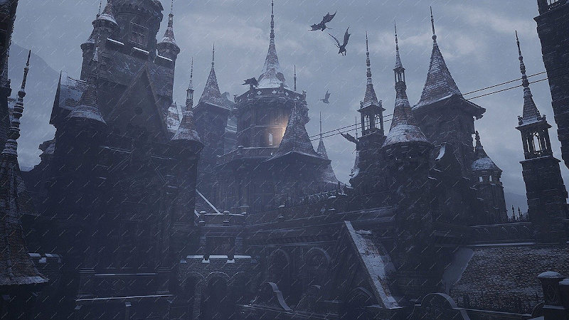 Resident Evil Village: Castillo
